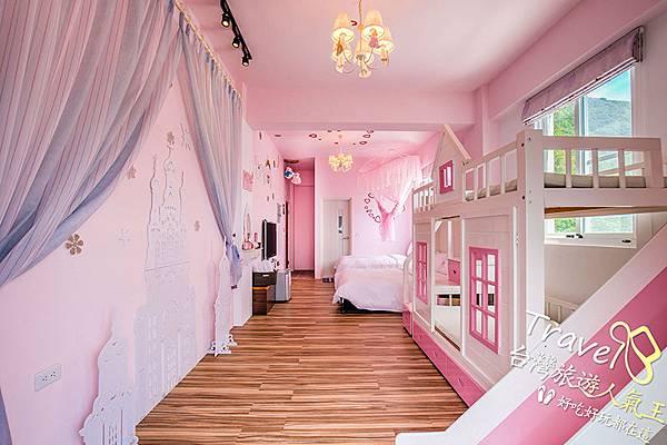 粉紅房內空間-公主房