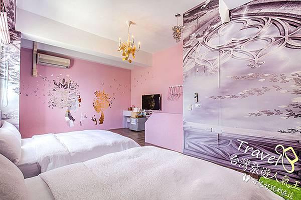 夢幻仙子4人房-室內全景