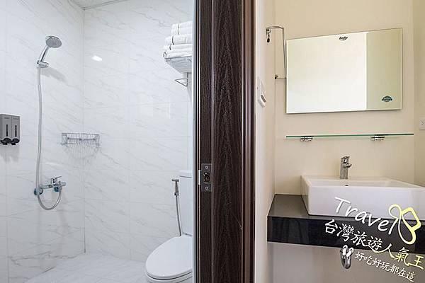 6人禪風房型-衛浴