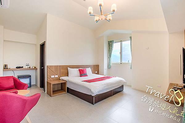 豪華雙人房-房間室內照片,花蓮民宿