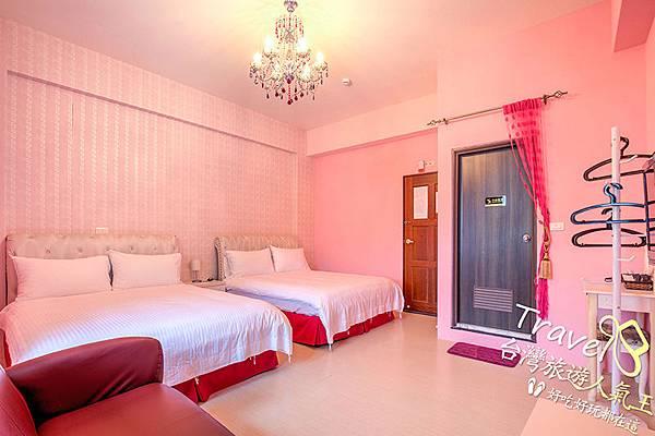 台東旅遊推薦-時尚玩家-俏佳人四人房-室內空間