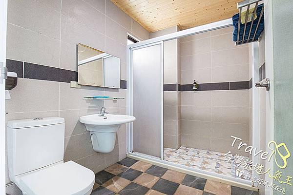 白沙灣32號-綠島民宿-浴室-乾濕分離-乾淨整潔