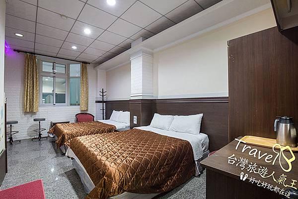 綠島安德渡假民宿-4人房2-房型介紹-典雅風格