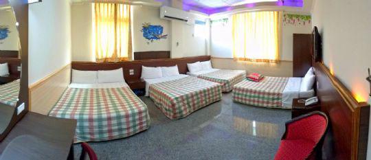 綠島安德渡假民宿-和家歡8人房-房間全景-側照