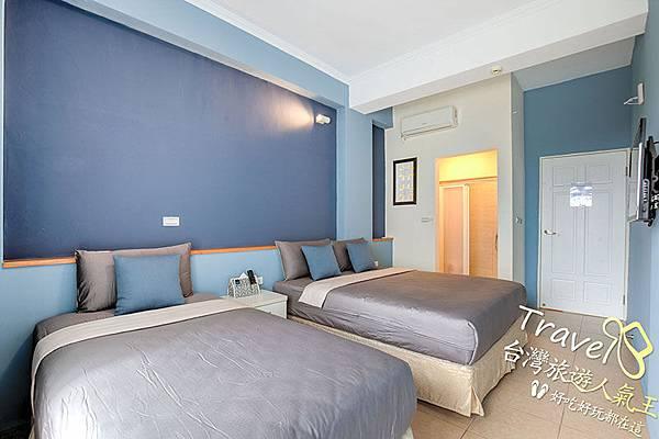 綠島海明威民宿,201三人海景房,室內環境