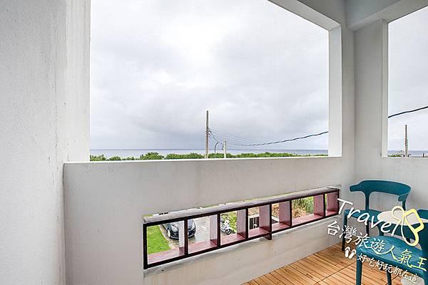 綠島海明威民宿,201三人海景房,陽台,綠島風景