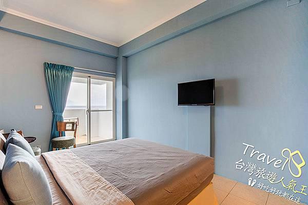 綠島海明威民宿,302雙人海景房,民宿室內