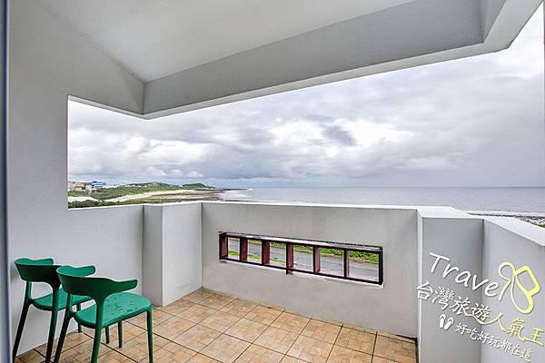 雲海,綠島海明威民宿,302雙人海景房,陽台