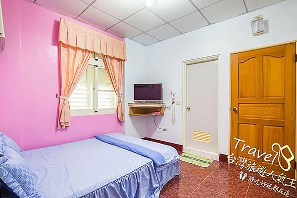 綠島民宿,甜蜜雙人房,民宿環境