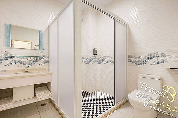 衛浴,綠島民宿,B區,夢幻無敵海景雙人房