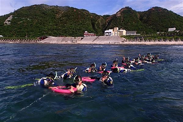 活動,綠島潛水行程,綠島民宿