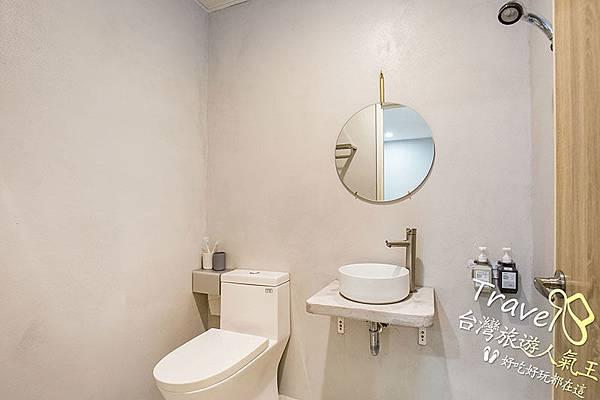 衛浴環境,明月小築民宿一館,綠島民宿