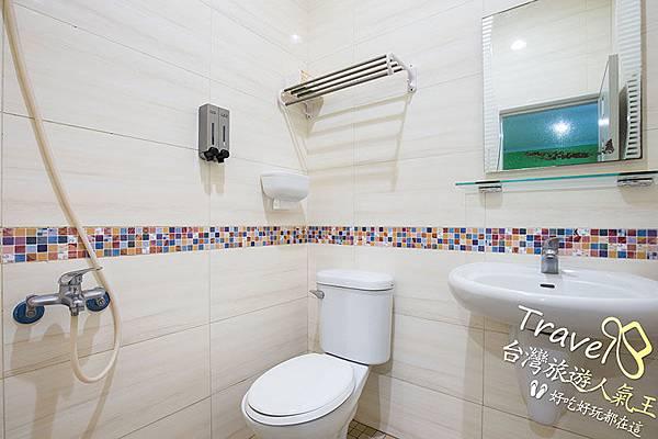 衛浴設施,明月小築民宿,略島民宿二館,B2四人房