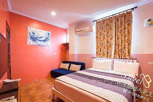 民宿資訊,明月小築民宿二館,雙人房,室內