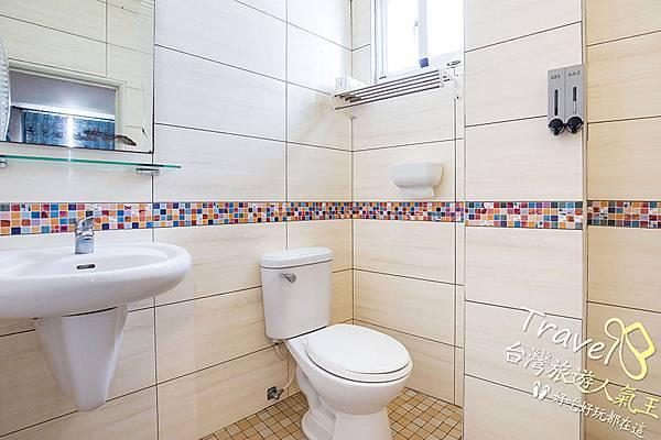 民宿環境,綠島民宿,B5雙人房,衛浴