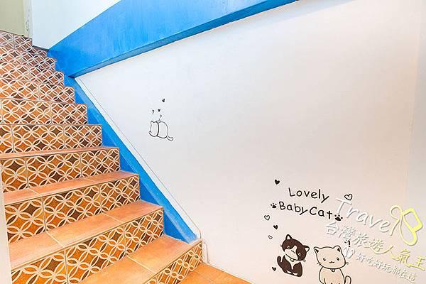 樓梯,綠島民宿,民宿二館,民宿大廳