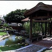 鹿港民俗文物館-古色古香庭院