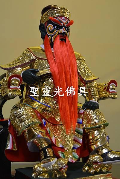 訂製神像 莫府千歲 一尺六 樟木 按金 活眼 植髮2