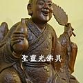 訂製神像 濟公活佛 一尺六 紫檀木 身坐五山鋒