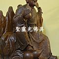 訂製神像 濟公活佛 一尺六 紫檀木 身坐五山鋒2