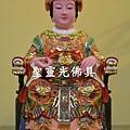 訂製神像 天上聖母 媽祖 一尺三 樟木 極彩彩繪