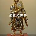 訂製神像 濟公 一尺六 樟木 站體拿書 金面按金