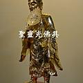 訂製神像 濟公 一尺六 樟木 站體拿書 金面按金2