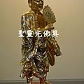 訂製神像 濟公 一尺六 樟木 站體拿書 金面按金1