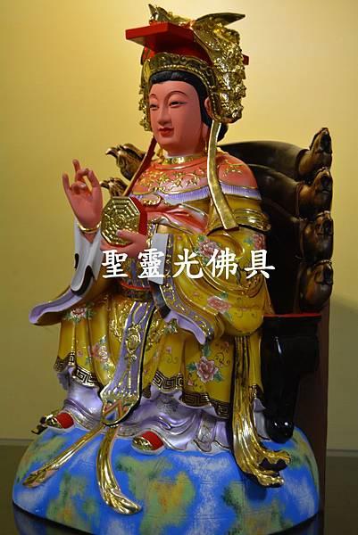 訂製神像 二尺二 地母娘娘 樟木 按金 珍珠漆彩繪3