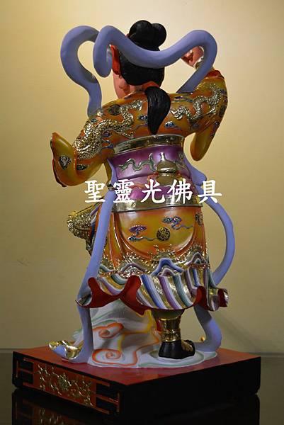 訂製神像 順天聖母 陳靖姑 二尺二 樟木 珍珠漆彩繪 按金3