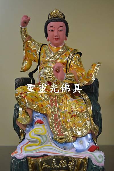 訂製神像 順天聖母 三嬤 李奶夫人 二尺二 樟木 按金