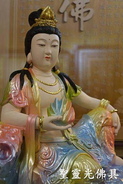 訂製神像 女媧娘娘 一尺三 牛樟木 珍珠漆彩繪