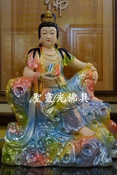訂製神像 女媧娘娘 一尺三 牛樟木 珍珠漆彩繪2