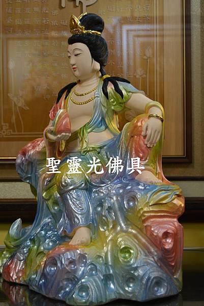 訂製神像 女媧娘娘 一尺三 牛樟木 珍珠漆彩繪4