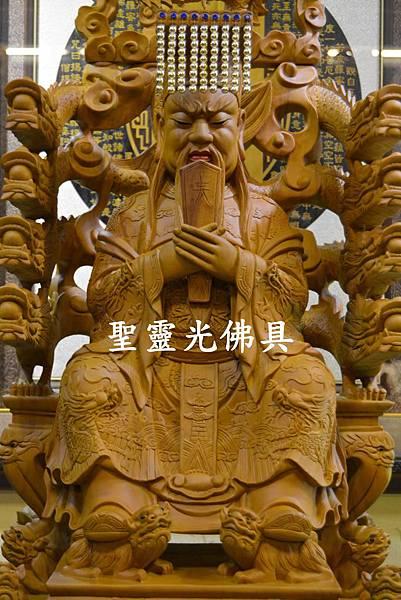 訂製神像 玄靈高上帝 二尺二 樟木 原木本色2