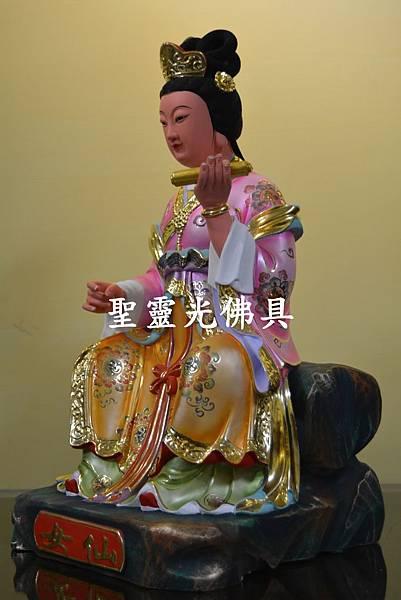 訂製神像 仙女 一尺三 樟木 珍珠漆 彩繪 按金3