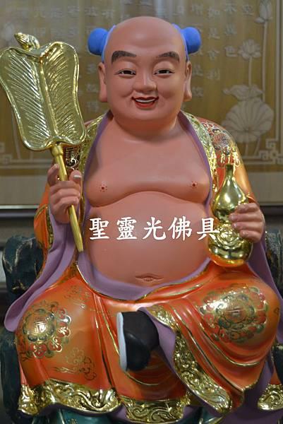 訂製神像 少年漢鍾離 一尺三 樟木 珍珠漆彩繪 按金1