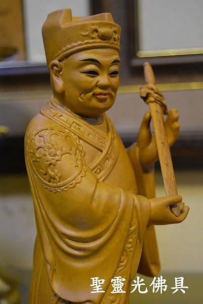 訂製神像 劍印童子 八吋八 樟木 原木本色與按金4