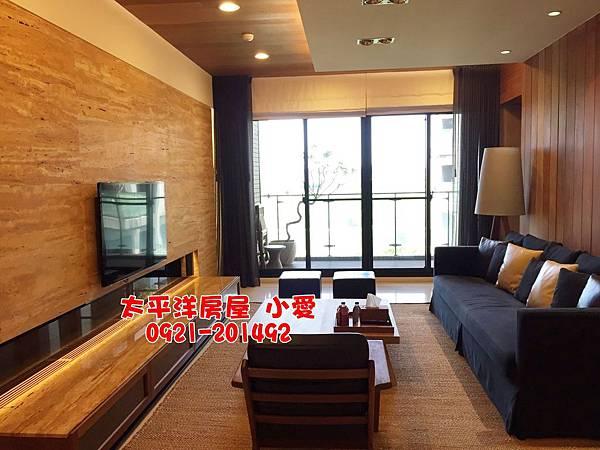 富廣【景泰然】水岸景觀大三房裝潢美屋~售1980萬