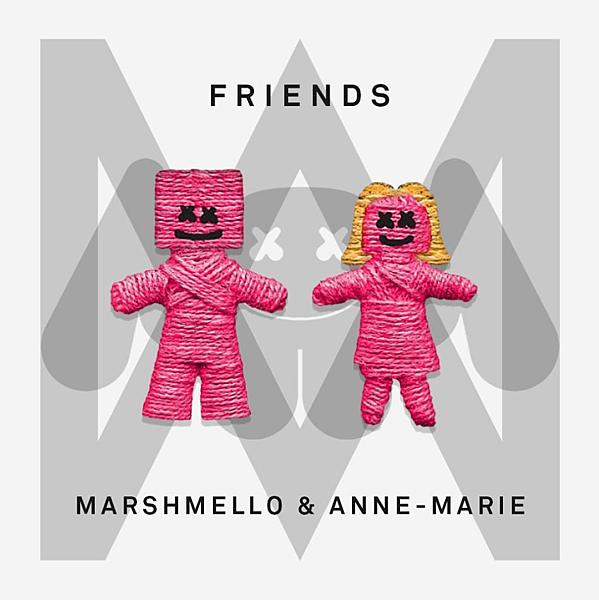 【中文歌詞翻譯】Marshmello & Anne-Marie – FRIENDS 只是朋友