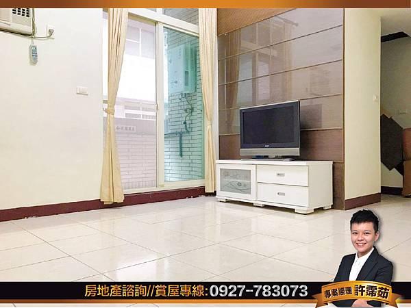 -巨蛋捷運2房 室內挑高3.6米 (正蛋黃區)-01