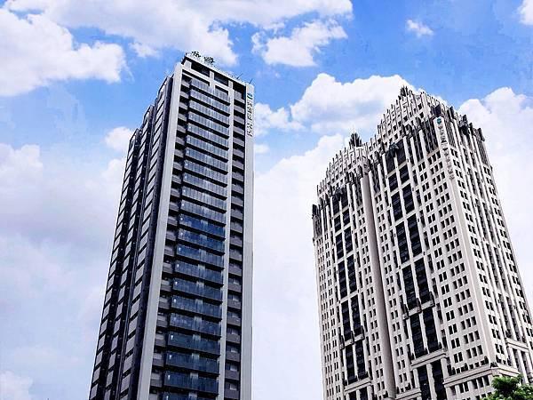 雙陽台 高樓層景觀採光正2房平車 興富發-大悅-照片 (2)