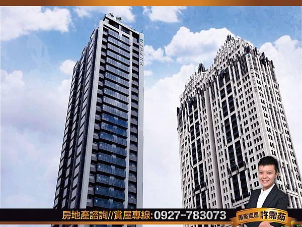 高樓景觀雙陽台 全採光興富發-大悅正2房平車-照片 (0)