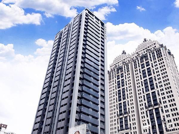 高樓景觀雙陽台 全採光興富發-大悅正2房平車-照片 (1)