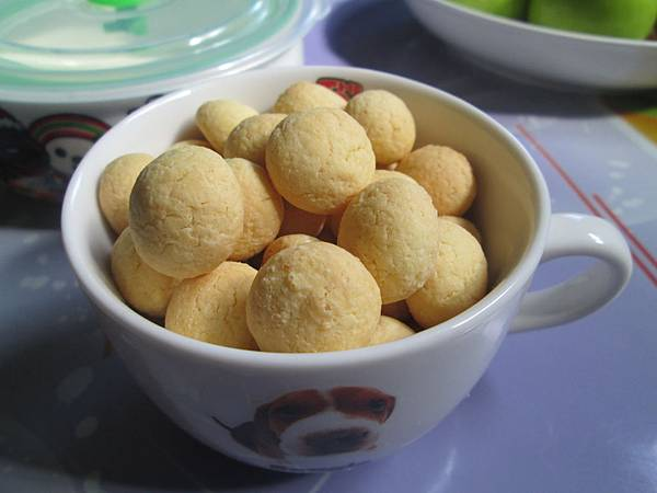 蛋黃小饅頭