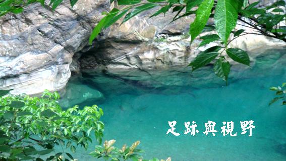 砂卡礑溪水與石5