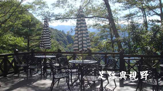 30咖啡座的景觀檯