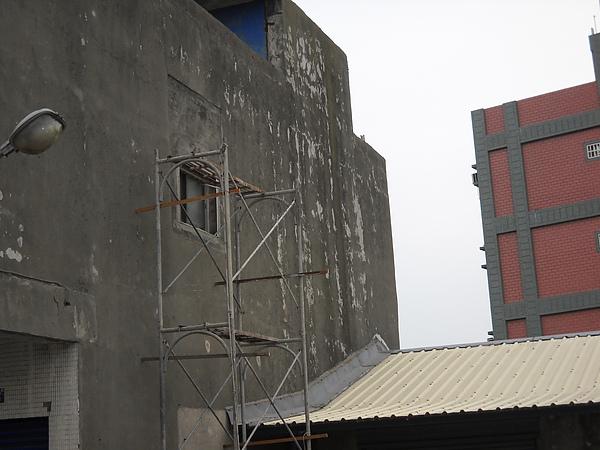 舊屋翻新一外牆施作前