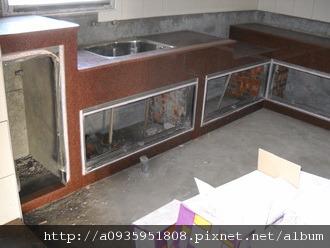 整修房屋一廚房施工部分