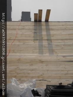 屋瓦翻修 板平施工過程
